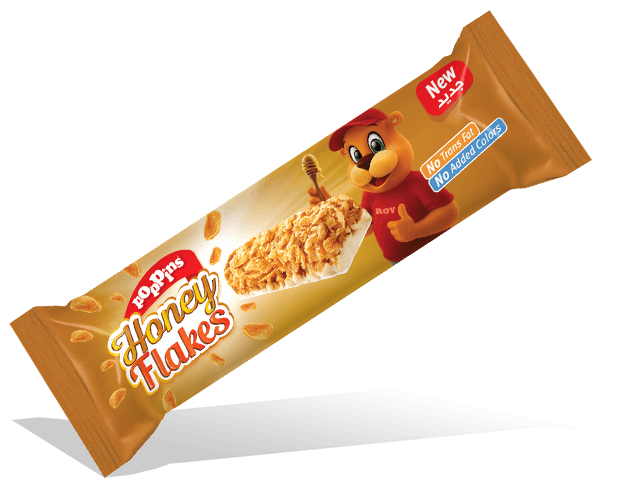 Honey Flakes Cereal Bar