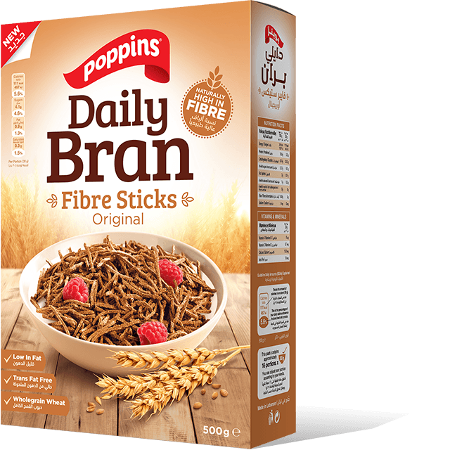 Daily Bran Fibre Sticks